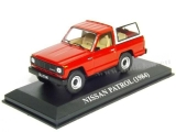 Nissan Patro 1984 (red)