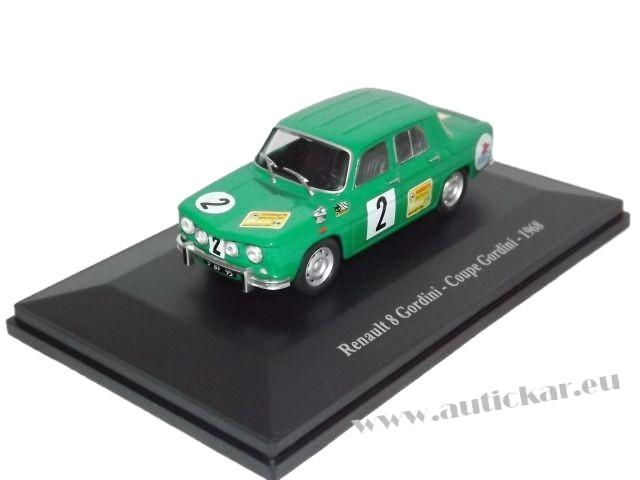 Renault 8 Gordini Coupe Gordini 1968 (green)