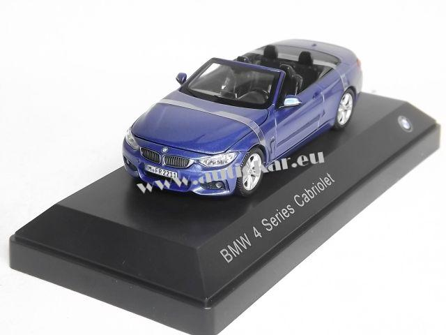 BMW 4 Series Cabriolet (blue)
