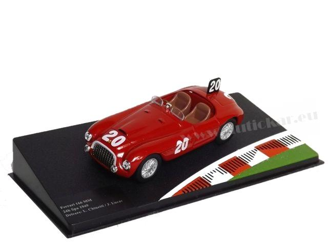Ferrari 166 MM 24h Spa Chinetti/Lucas