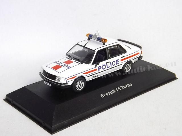Renault 18 Turbo Police