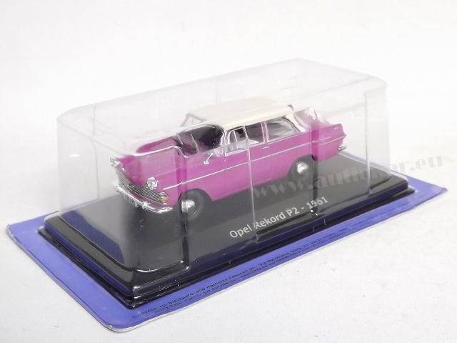 Opel Rekord P2 1960 (purple)