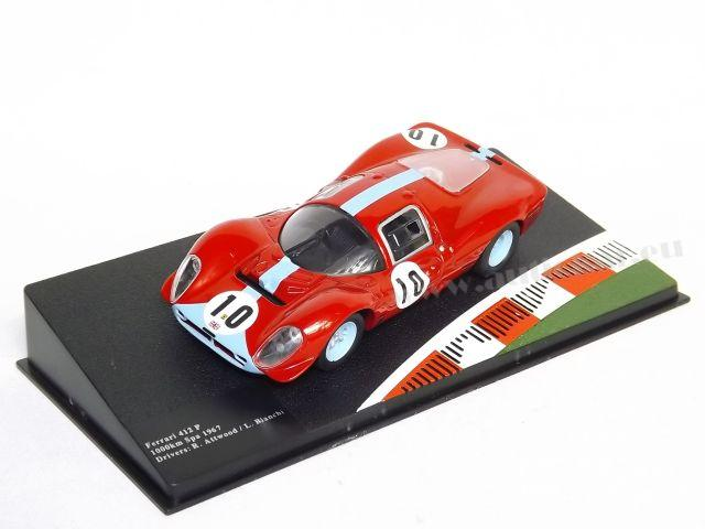 Ferrari 412P 1000 Km Spa 67 No. 10