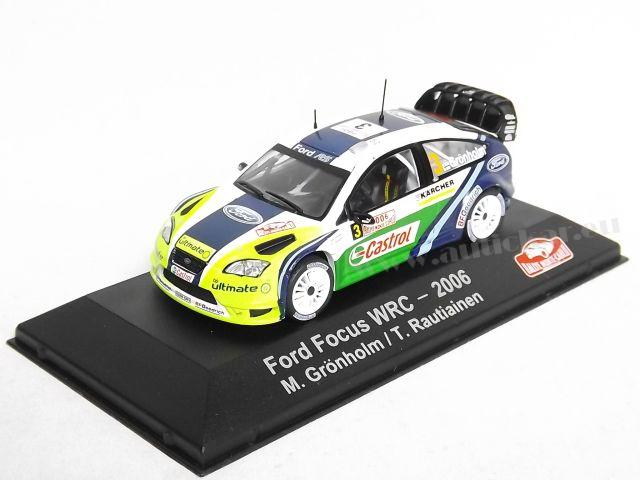 Ford Focus WRC RMC 2006 Gronholm/Rautiainen