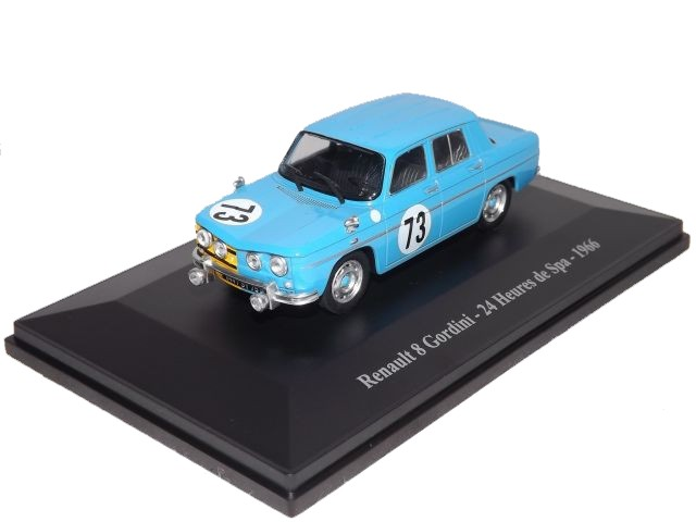 Renault 8 Gordini 24H Spa 1966