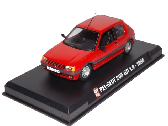 Peugeot 205 GTI (red)