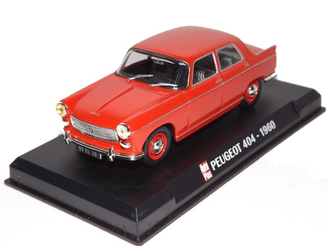Peugeot 404 (red)