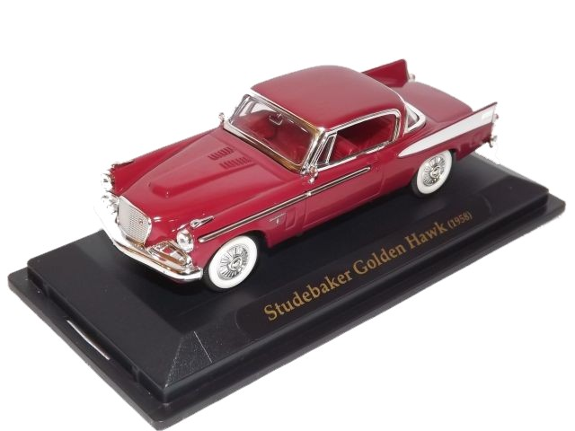 Studebaker Golden Hawk (burgundy)