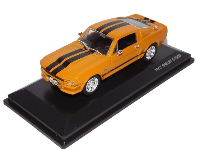 Shelby Mustang GT 500 KR (orange)