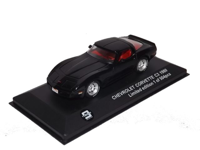 Chevrolet Corvette C3,black