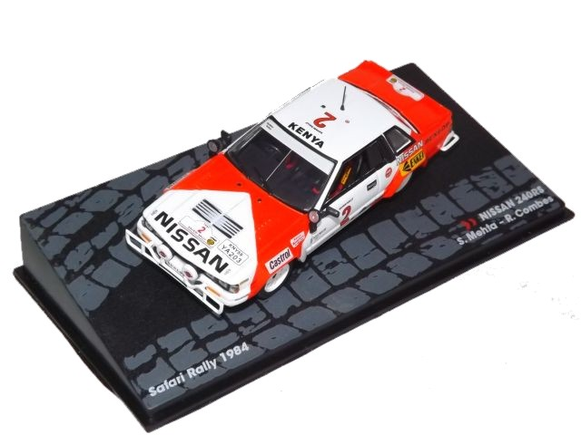 Nissan 240 RS Safari Rally 1984 Mehta-Combes
