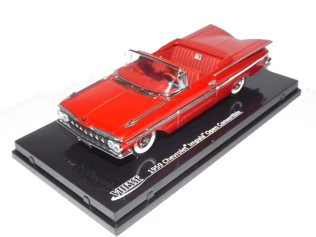 Chevrolet Impala Convertible 1959 (red)
