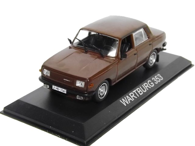 Wartburg 353 (brown)