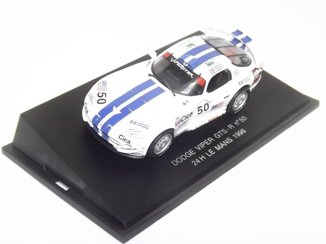 Dodge Viper GTS-R No. 50 24h LeMans 1996