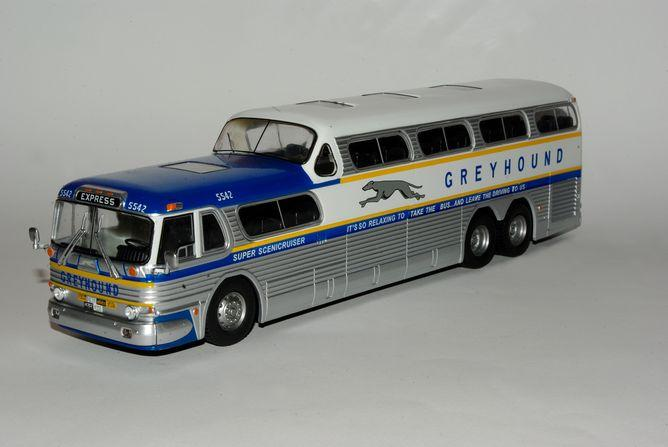 Scenicruiser Greyhound Lines Autobus 1956