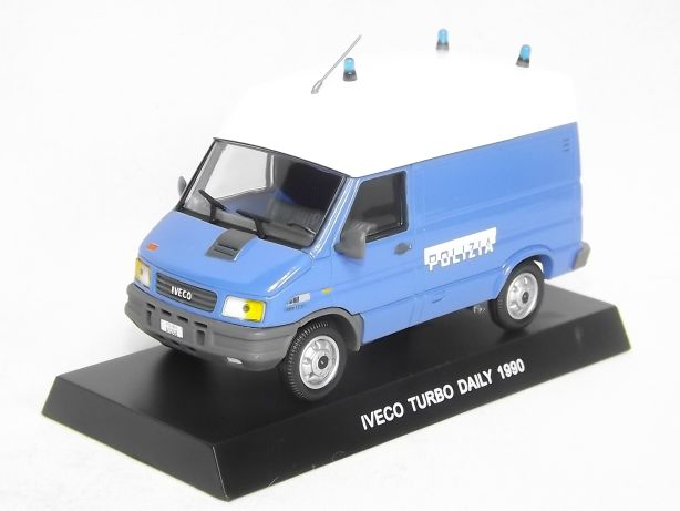 IVeco Turbo Daily Van Polizia 1990
