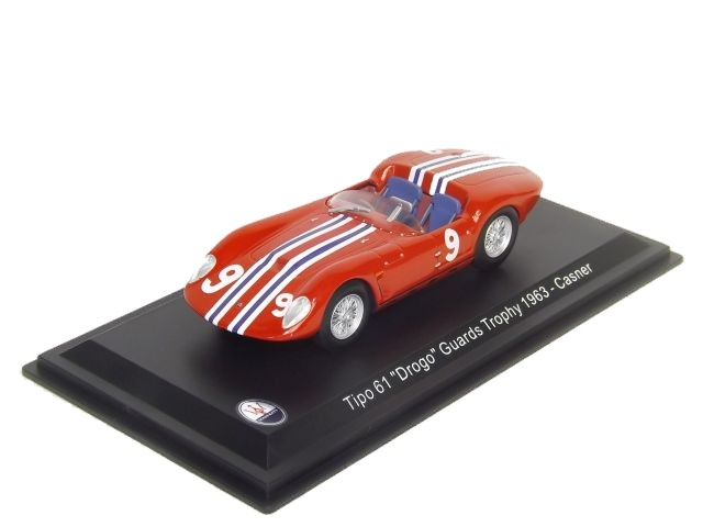 Maserati Tipo 61 Drogo Guards Trophy 1963 Casner