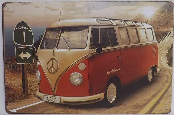 VW Bus California