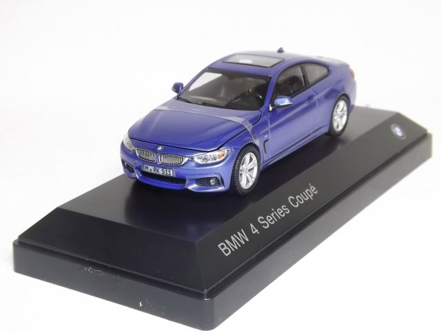 BMW 4 Series Coupe (blue)