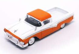Ford Ranchero 1957 (orange-white)