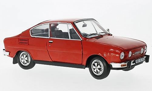 Škoda 110R Coupé 1980 (red) 1:18