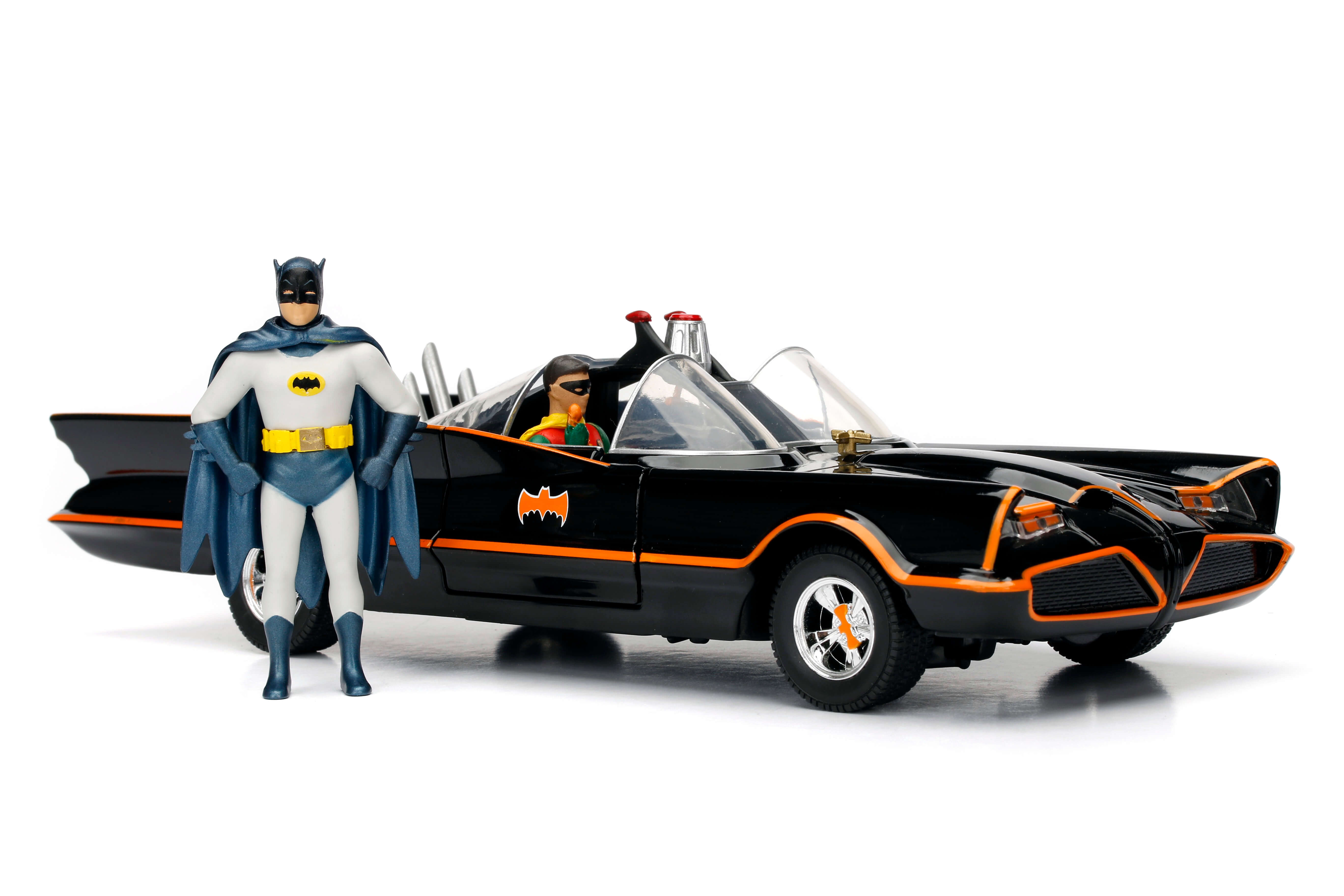 Batmobile 1966 Classic TV Series + Figures 1:24