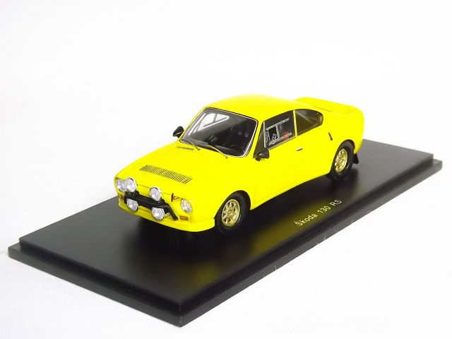 Skoda 130 RS FOX Yellow
