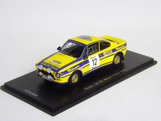 Škoda 130 RS Barum RALLYE 1979