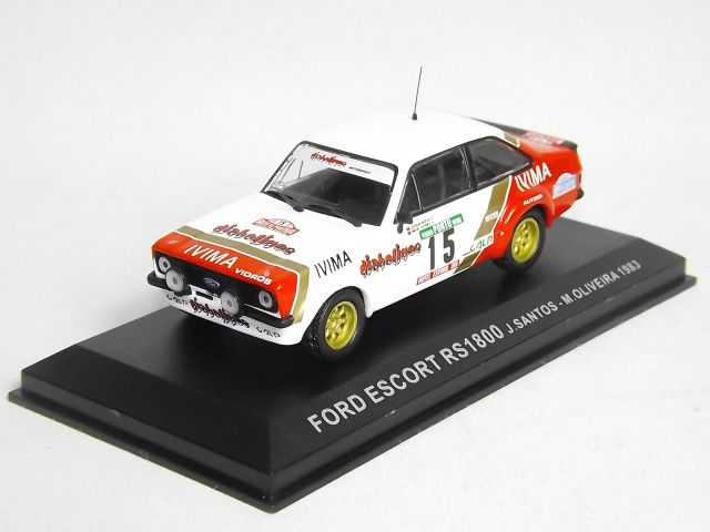 Ford Escort RS 1800 Santos-Oliveira 1983