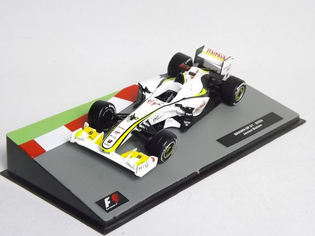 BRAWN GP01 J. Button 2009