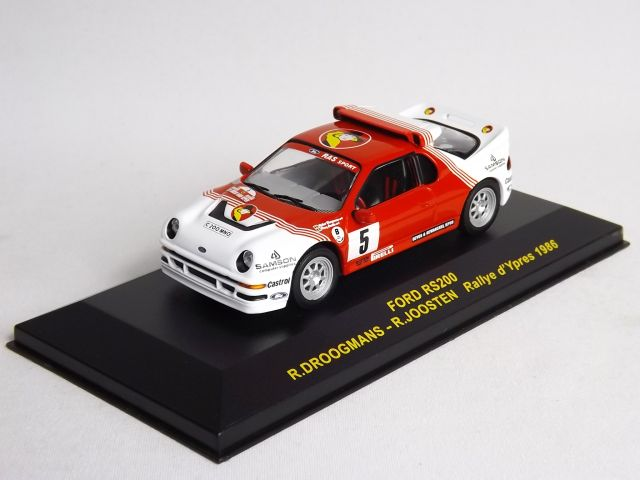 Ford RS 200 Droogmans/Joosten d´Ypres 1986