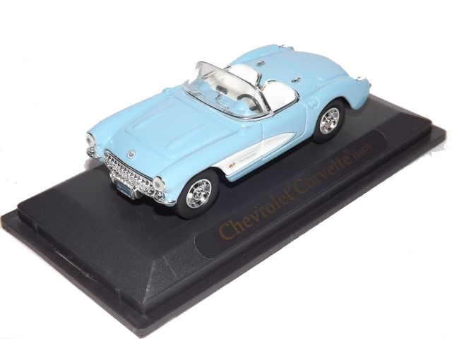 1957 Chevrolet Corvette (light blue)
