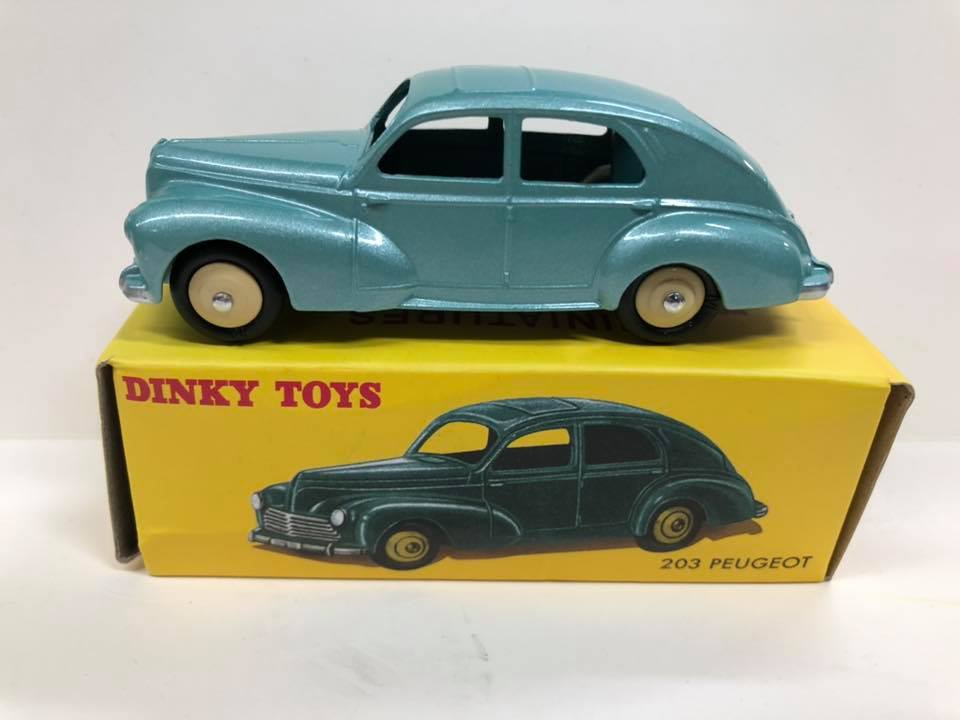 Peugeot 203 Dinky Toys Replica