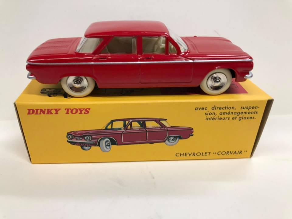 Chevrolet Corvair Dinky Toys Replica