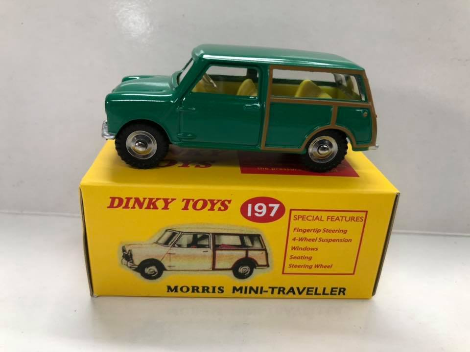 Morris Mini Traveller Dinky Atlas