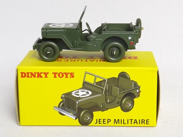 JEEP Militaire Dinky Atlas