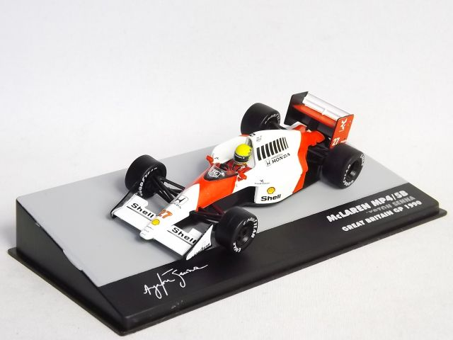 McLaren MP4/5B A.Senna G. Britain 1990