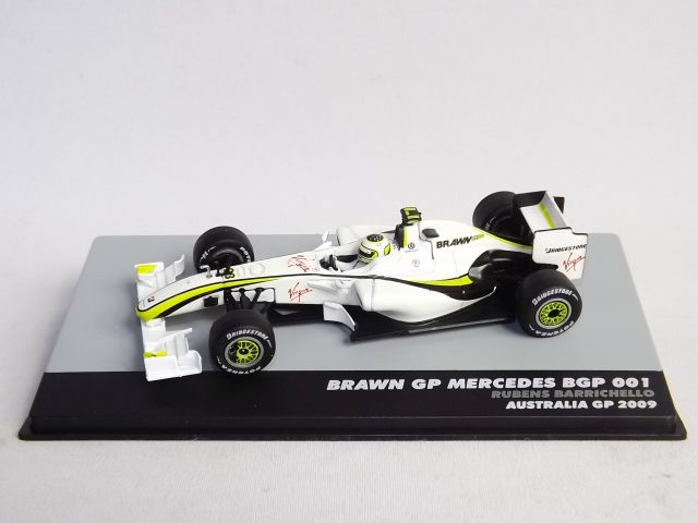 BRAWN GP Mercedes BGP001 R. Barichello Australia GP 2009