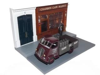 "Peugeot DMA ""Charbon, Cafe, Mazout"" Diorama"