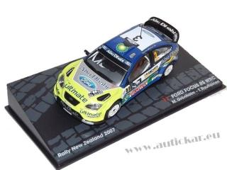 Ford Focus RS WRC Gronholm/Rautiainen New Zealand 2007