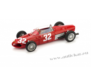 FERRARI 156 G.BAGHETTI 1961 RETIRED (ENGINE) ITALY GP N.32 FAST.LAP
