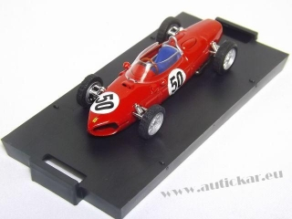 FERRARI 156 G.BAGHETTI 1961 N.50 WINNER FRANCE GP