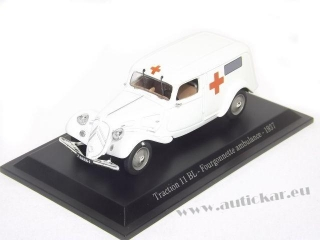 Citroen Traction 11BL Fourgonette Ambulance