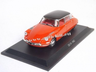 Citroen DS19  1962 Black/Red