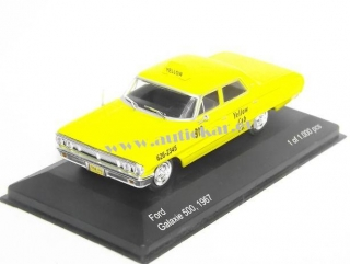 Ford Galaxie 500 Yellow Cab New York
