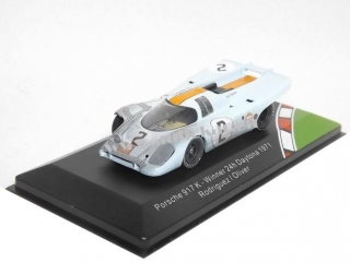 Porsche 917K J. W. Automotive Gulf No.2 Accident