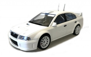 Škoda Octavia WRC Evo2 Plain Body version 1:18