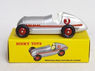 Mercedes Benz Voiture de Course Dinky Atlas