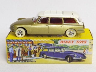 Citroen ID19 Break Dinky Atlas