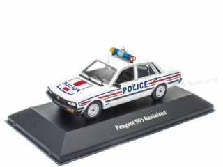 Peugeot 505 Danielson Police
